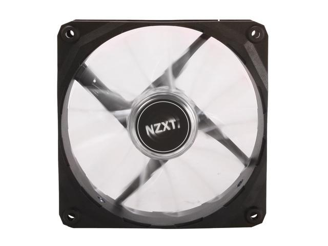 NZXT Air Flow Series RF-FZ120-W1 120mm White LED Case Fan