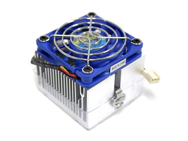 MASSCOOL 5R058B3-H 60mm Ball CPU Cooling Fan with Heatsink