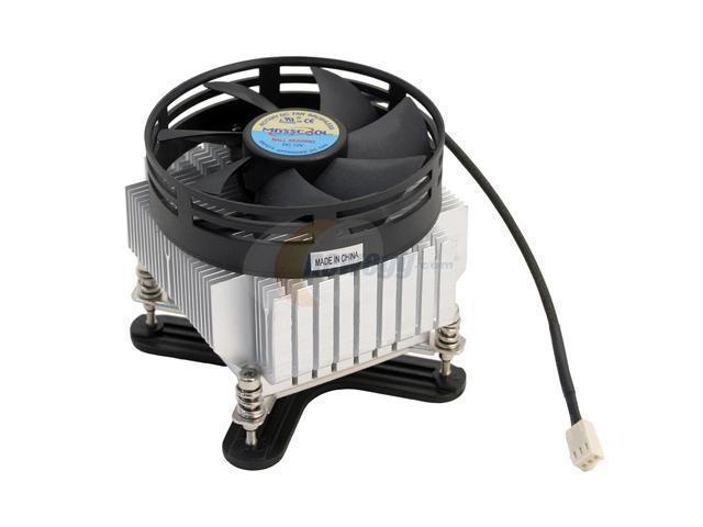 MASSCOOL 8W0141B1M3G 90mm Ball CPU Cooler