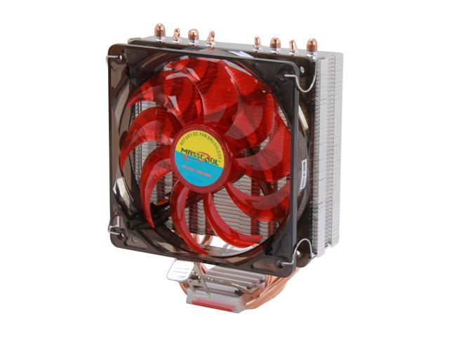 Masscool 7WA868  UNIVERSAL Socket CPU Cooler compatible for latest INTEL 2011/1366/1155 & AMD FM1/AM3+