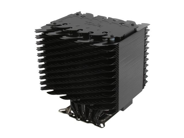 Tuniq Tower 120 Extreme Universal CPU Cooler 120mm Magnetic Fluid Dynamic LED Fan and Fan Controller/Heatsink Rev.1 with 1156 Brackets, free TX-3 Thermal Paste Included Inside