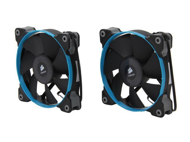 Corsair Air Series SP120 Quiet Edition 120mm High Static Pressure Twin Pack Fan (CO-9050006-WW)