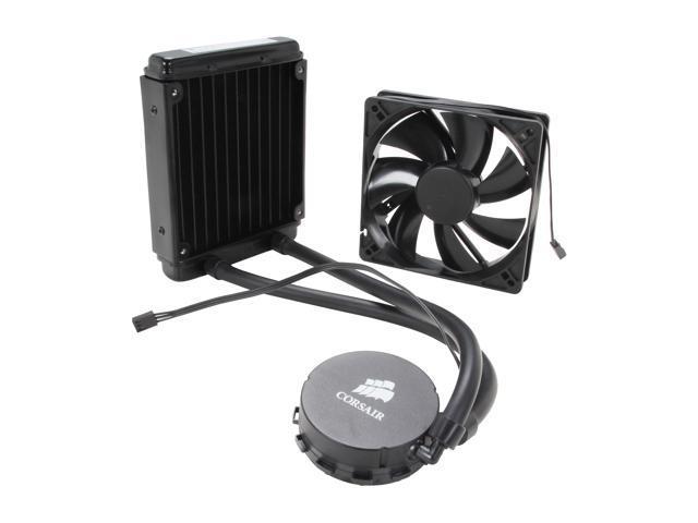 Corsair Hydro Series H55 Quiet Edition Water / Liquid CPU Cooler 120mm (Black)