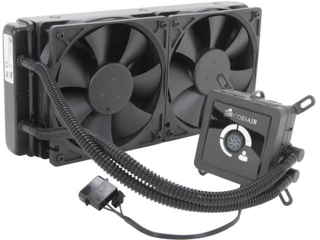 CORSAIR Hydro Series H100 (CWCH100/RF) Extreme Performance Liquid CPU Cooler