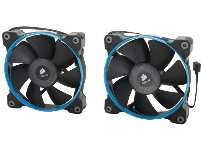 Corsair Air Series SP120 (CO-9050012-WW) 120mm PWM Quiet Edition High Static Pressure Fan (Twin Pack)