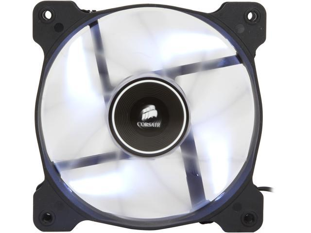 Corsair Air Series AF120 LED 120mm Quiet Edition High Airflow Fan Single Pack - White (CO-9050015-WLED)