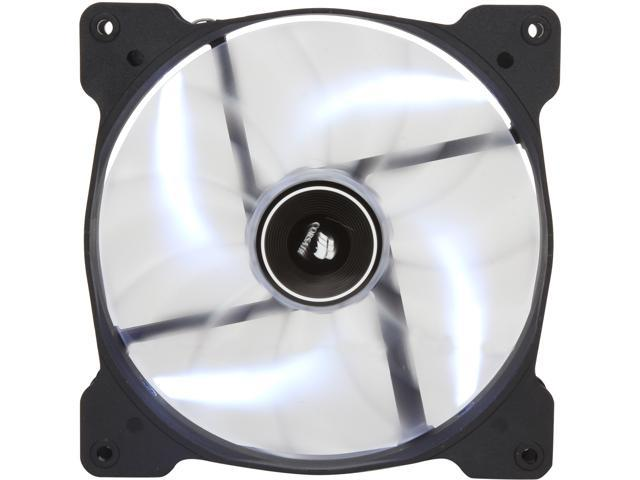 Corsair Air Series AF140 140mm White LED Quiet Edition High Airflow Fan (CO-9050017-WLED)