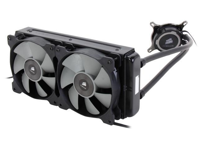 CORSAIR Hydro Series H105 Extreme Performance 240mm Liquid CPU Cooler, CW-9060016-WW