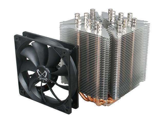 Scythe Ninja 3 SCNJ-3000  120mm  Sleeve  CPU Cooler - Retail