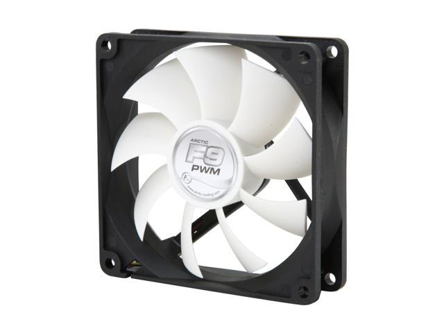 ARCTIC F9 PWM Fluid Dynamic Bearing Case Fan, 92mm PWM Speed Control,  43CFM at 23dBA