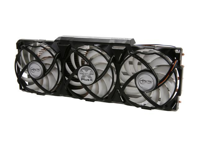 ARCTIC COOLING Accelero XTREME Plus II Fluid Dynamic VGA Cooler for NVIDIA and AMD Radeon