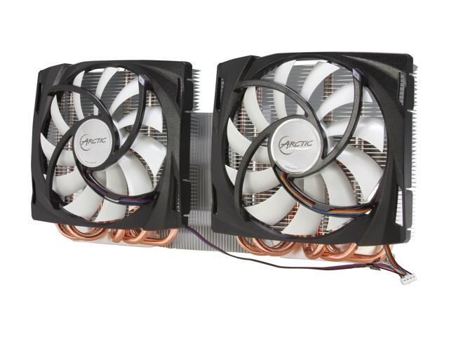 ARCTIC Accelero TT 6990 VGA Cooler - AMD 6990, Dual Quiet 120mm PWM Fans, Extreme Cooling
