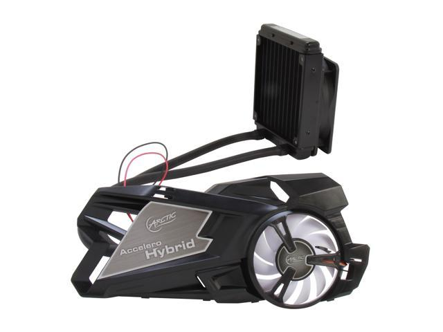 ARCTIC Accelero Hybrid Extreme VGA Cooler-nVidia/AMD, Liquid/Air Combo Ultimate Cooling