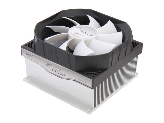 ARCTIC Alpine 11 Plus CPU Cooler - Intel, Supports Multiple Sockets, 92mm PWM Fan at 23dBA