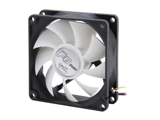 ARCTIC F8 PWM Fluid Dynamic Bearing Case Fan, 80mm PWM Speed Control, 31CFM at 22dBA