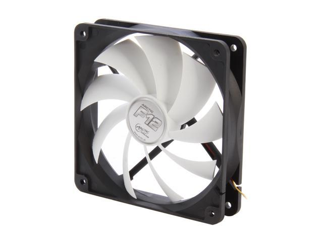 ARCTIC F12 Fluid Dynamic Bearing Case Fan, 120mm Quiet Blade Design, 74CFM at 22dBA