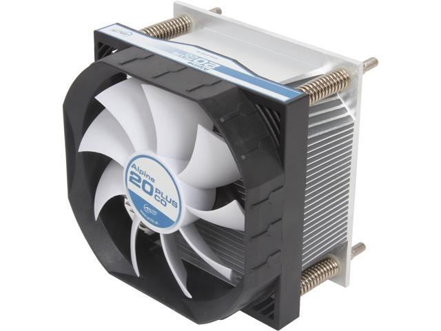ARCTIC Alpine 20 Plus CO CPU Cooler - Intel LGA2011, 92mm PWM Fan, 24/7 Operation at 24dBA