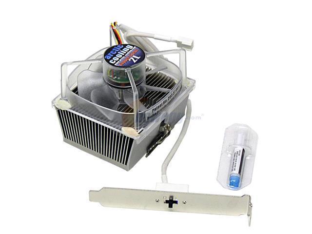 ARCTIC COOLING Copper Silent 2L 80mm CPU Cooling Fan/Heatsink