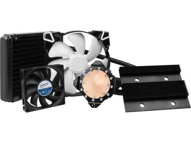 ARCTIC COOLING ACACC00015A Fluid Dynamic VGA Cooler, A Multi-compatible Air/Liquid Cooler for Graphic Card -R9 290X