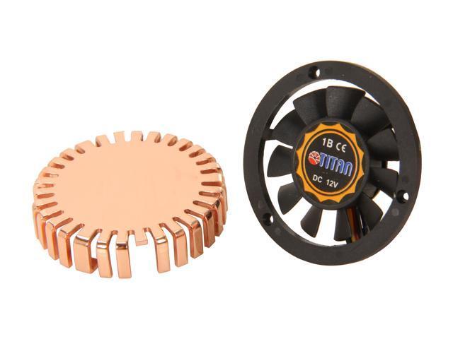 Titan TTC-CUV1AB(DIY) 40 x 40 x 10 mm 1 Ball, 1 Sleeve Copper VGA Cooler
