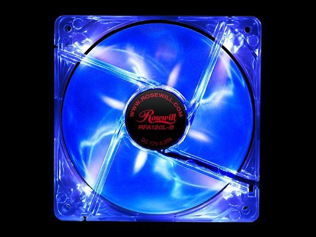 Rosewill RFA120L-B Blue LED Case Fan