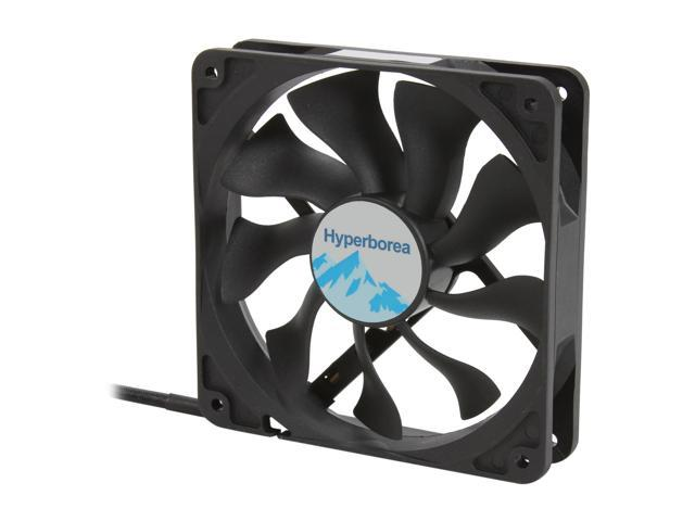 Rosewill ROCF-11004 - 120mm Computer Case Cooling Fan - Hydro-Dynamic Bearing, Silent, 2-Speed with PWM Control