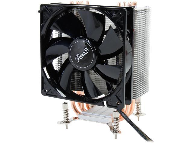 Rosewill ROCC-13001 AIOLOS PLUS 120mm Long Life Sleeve CPU Cooler Compatible Intel Core i5 & Core i7