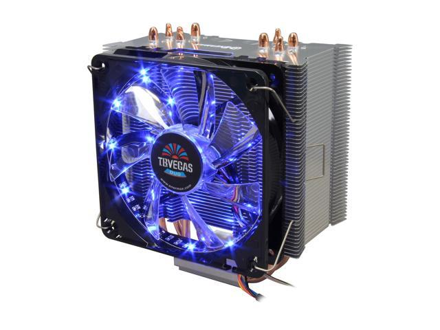 Enermax ETS-T40-VD  CPU Cooler VEGAS DUO With PWM Twister Bearing Fan Compatible with latest Intel 2011/1366/1155 and AMD FM2/FM1/AM3+