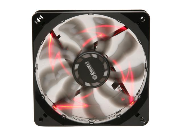 ENERMAX T.B. Silence UCTB12N-R 120mm Red LED Case Fan