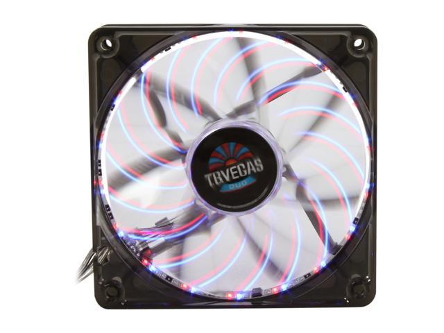 ENERMAX T.B. Vegas Duo UCTVD12A 120mm Blue/Red LED Case Fan with Changeable Modes
