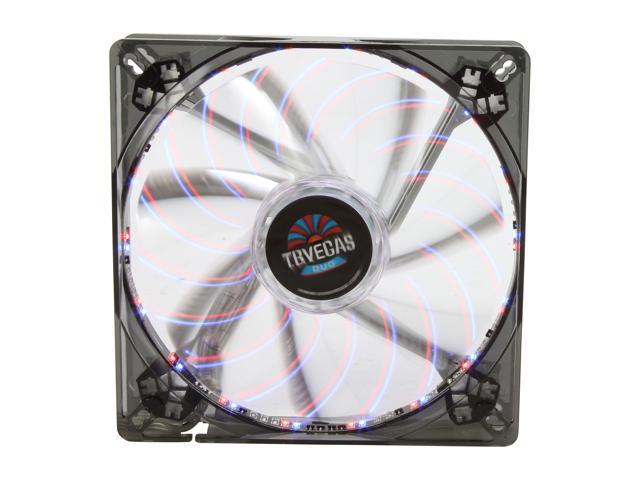 ENERMAX T.B. Vegas Duo UCTVD14A 140mm 2 Color (Blue/Red) LED Case Fan with Changeable Modes