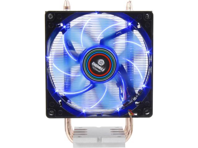 Enermax ETS-N30-TAA Black 92mm Twister CPU Cooler with TB Apollish Blue LED PWM Fan