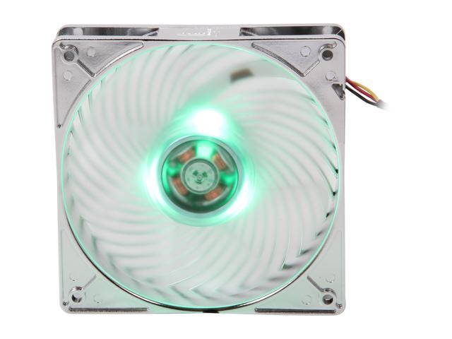SILVERSTONE Air Penetrator AP121-L AP121-GL 120mm Green LED Case Fan