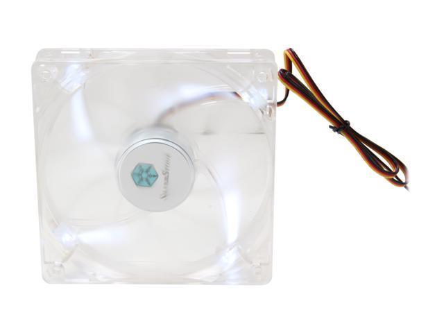 SILVERSTONE FN121-P-WL White LED Case Fan