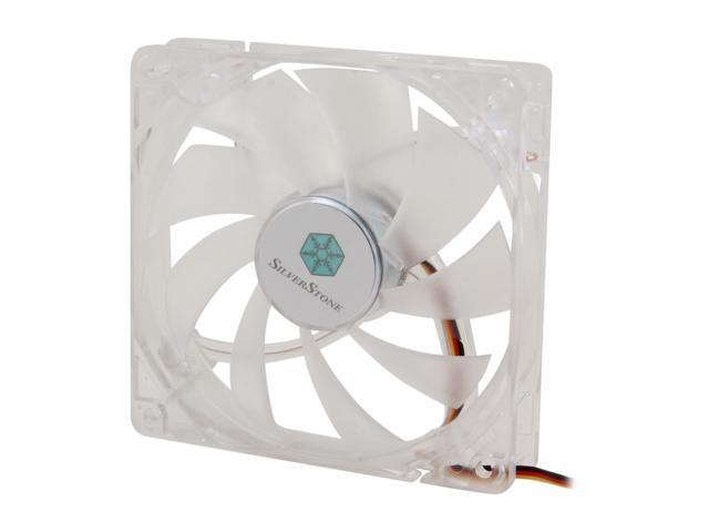 SILVERSTONE FN121-P-GL Green LED Case Fan