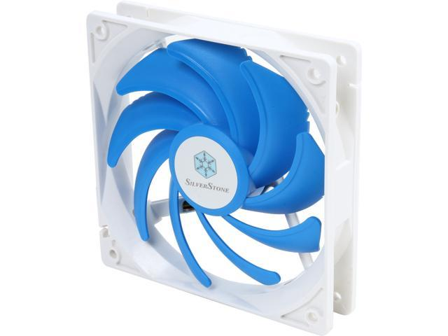 SILVERSTONE FQ121 120mm 120mm Ultra-Quiet PWM 9-Bladed Fan
