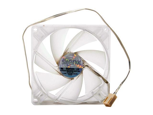 SilenX IXP-54-14R 80mm Red LED Case Fan