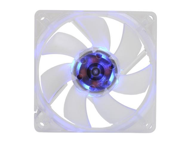 SilenX EFX-08-15B 80mm Blue LED Effizio Quiet Case Fan
