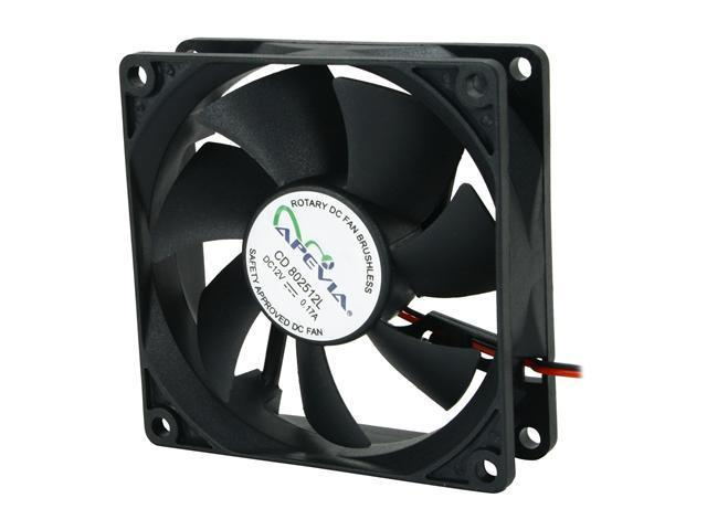 APEVIA CF4S-BK 80mm Case cooler