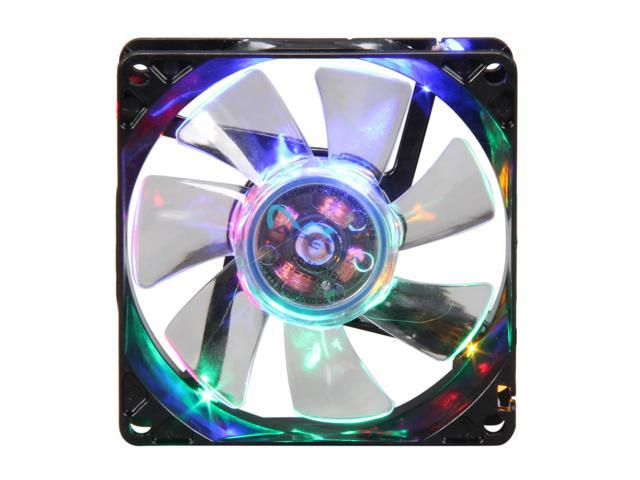 APEVIA CF8SL-B4C Multi-Color LED Case Fan w/Grill