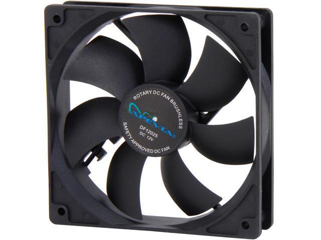 APEVIA 12S-BK 120mm Case Fan