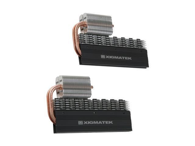 XIGMATEK dragoon-n422 Aluminum alloy HDT family cooler for RAM module