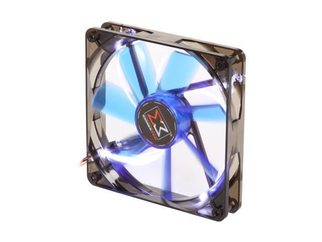 XIGMATEK FCB (Fluid Circulative Bearing) Cooling System XLF XLF-F1454 140mm LED Blue Case Fan PSU Molex Adapter/extender included
