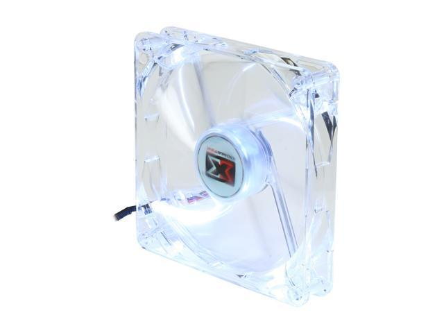 XIGMATEK FCB (Fluid Circulative Bearing) Cooling System Crystal Series CLF-F1454 140mm White LED Case Fan PSU Molex Adapter/extender included