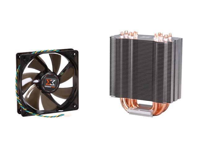 XIGMATEK Aegir SD128264 Mega Killer Double HDT 120mm Long Life Bearing CPU Cooler Dual Fan LGA 2011 I7 i5 775 1155 1156 1150 Haswell and AMD compatible
