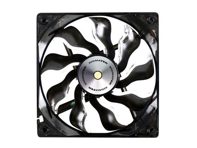 XIGMATEK XAF-F1255 White LED Case Fan