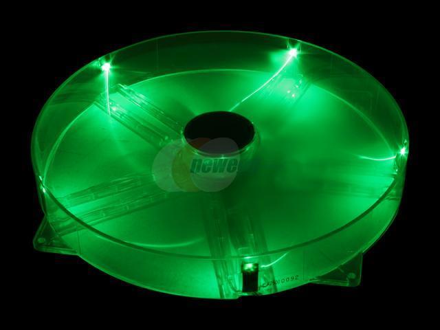 XCLIO Amazing Fan - 25cm Red, Blue, Green & Random LED Case Fan