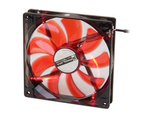 Prolimatech PRO-RV14LED Red LED Red Vortex 14 LED Case Cooler