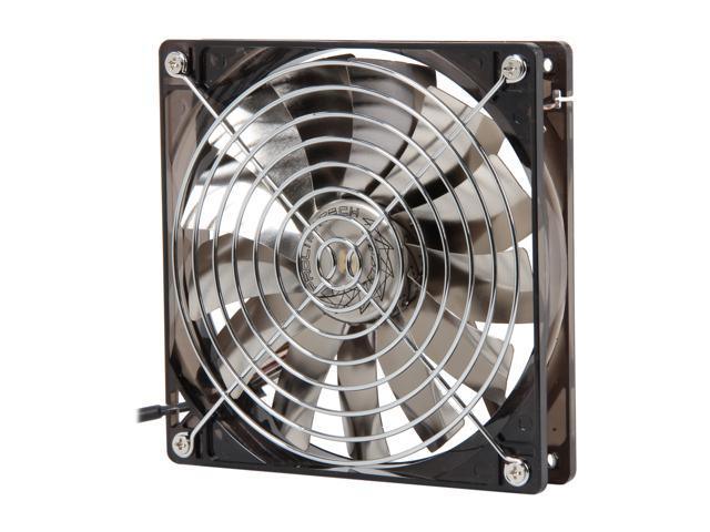 Prolimatech Vortex Fan Aluminum Series PRO-ALUM-RD 140mm Red LED Case Fan