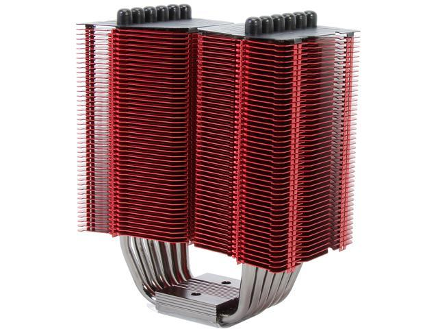 Prolimatech PRO-MGH-RD CPU cooler Megahalens Blue compatible with Intel Socket 775/1366/1156/1155/ 2011